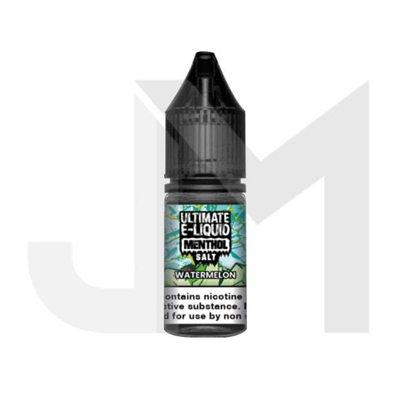 10mg Ultimate E-liquid Menthol Nic Salts 10ml (50VG/50PG)