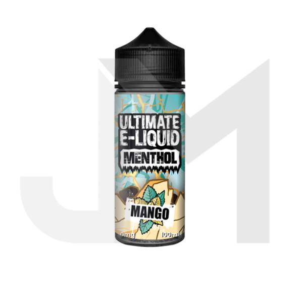 Ultimate E-liquid Menthol by Ultimate Puff 100ml Shortfill 0mg (70VG/30PG)