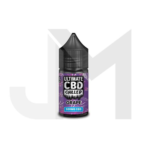 Ultimate Puff CBD Chilled 1000mg 30ml E-Liquid (70VG/30PG)