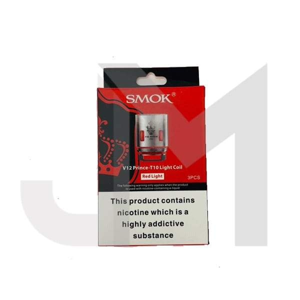 Smok V12 Prince T10 Red Light Coil - 0.12 Ohm