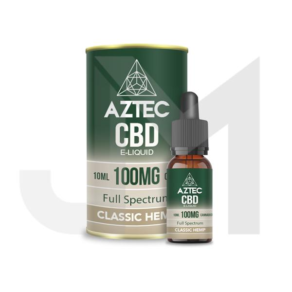Aztec CBD 100mg CBD Vaping Liquid 10ml (50PG/50VG)