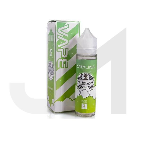 Catalina by Alien Vape 0mg 60ml Shortfill (70VG/30PG)