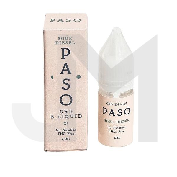 Paso 500mg CBD Vaping Liquid 10ml (70PG/30VG)