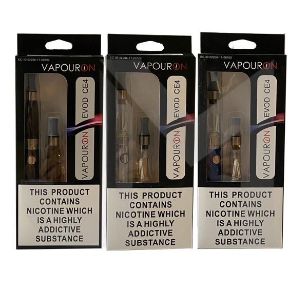 Vapouron EVOD CE4 Pen Kit - (With 1 free Atomizer)