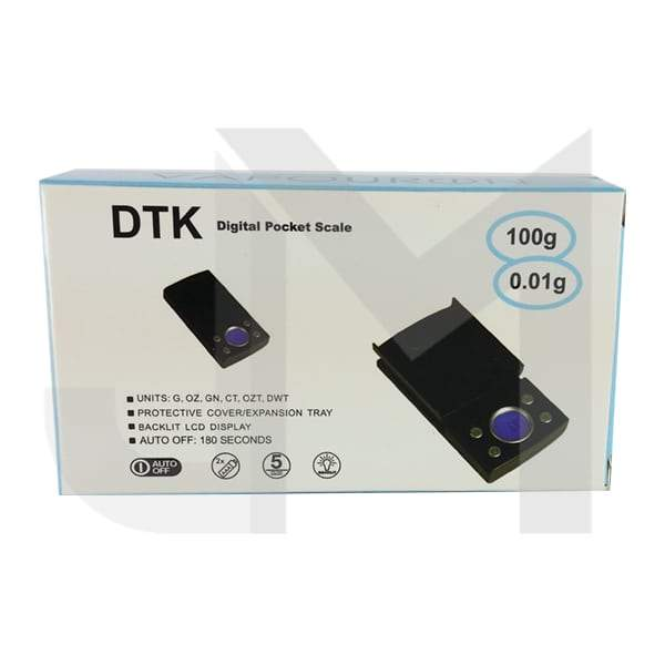 Vapouron DTK Digital Pocket Scale - 0.01g - 100g (DTK-100 VP)