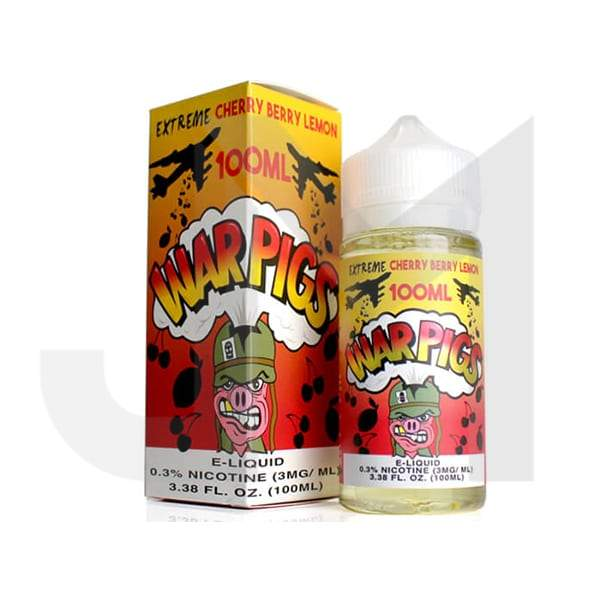 War Pigs by Cloud Thieves 100ml Shortfill 0mg (75VG/25PG)