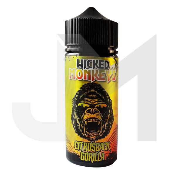 Wicked Monkeys 100ml Shortfill 0mg (70VG/30PG)
