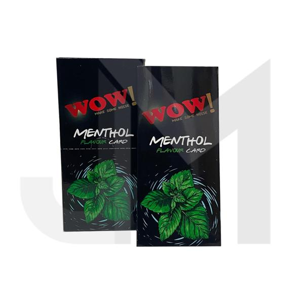 Wow Menthol Flavour Cards Infusions Pack of 20