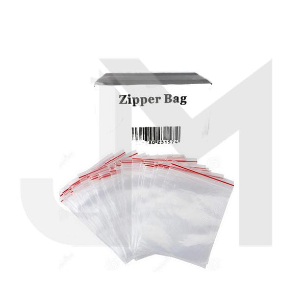 Zipper Branded 35mm x 25mm  Clear Baggies