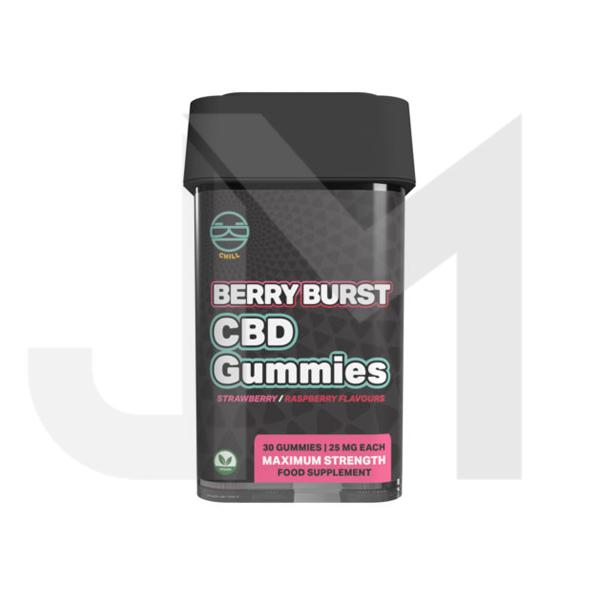 Zoetic 750mg CBD Chill Gummies - Berry Burst