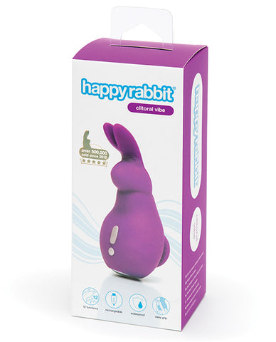 Happy Rabbit Clitoral Vibe Rechargeable - Purple - RealisticDildos.com