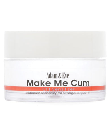 Adam & Eve Make Me Cum Clit Sensitizer - .5 Oz - RealisticDildos.com