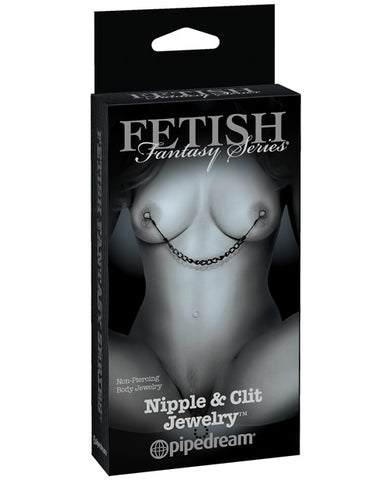 Fetish Fantasy Limited Edition Nipple & Clit Jewelry - RealisticDildos.com