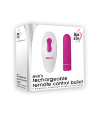 Eve's Rechargeable Remote Control Bullet - realistic enterprises llc