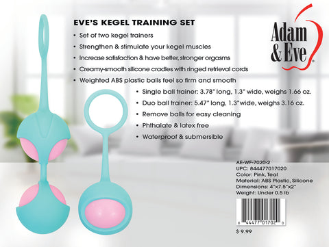 Eves Kegel Training Set - realistic enterprises llc