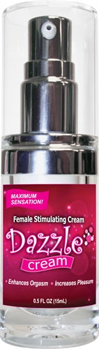 Dazzle Female Stimulating Cream .5 Oz - realistic enterprises llc