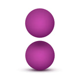 Luxe Double O Advanced Kegel Balls - Pink - realistic enterprises llc