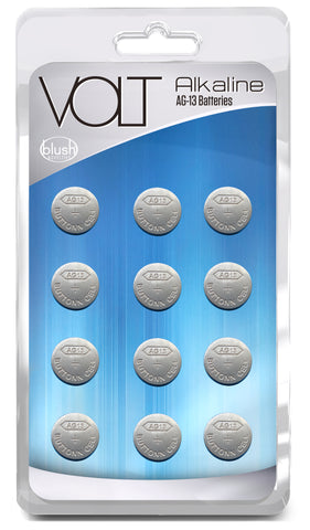 Volt Alkaline Batteries AG-13 - 12 Pack - realistic enterprises llc