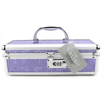 Vibrator Case Lockable - Purple
