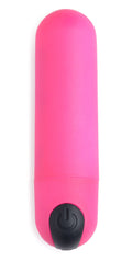 Bang Vibrating Bullet With Remote Control - Pink