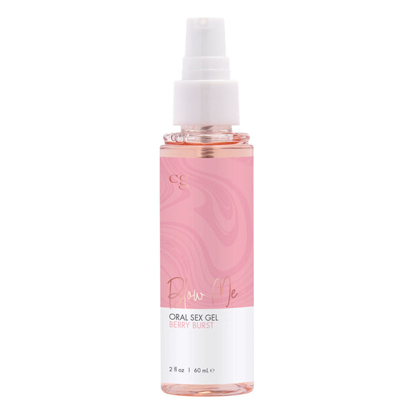 Blow Me Oral Sex Gel Berry Burst 2 Fl. Oz. - realistic enterprises llc