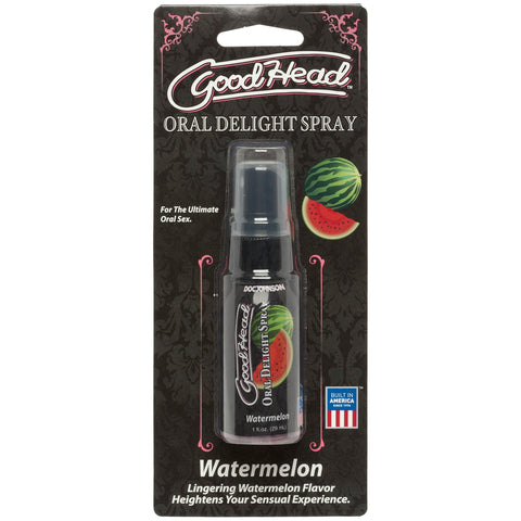 Goodhead - Oral Delight - 1 Fl. Oz. Spray -  Liquid Watermelon - realistic enterprises llc