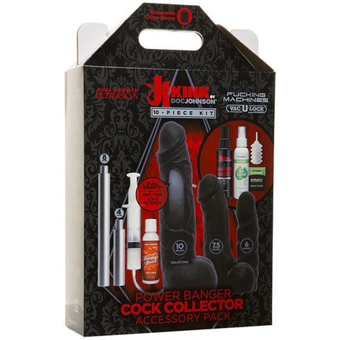 Power Banger Cock Collector Accessory Pack - 8  Piece Kit - realistic enterprises llc