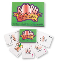 Boobie Playing Cards - realistic enterprises llc