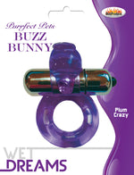 Purrfect Pet Buzz Bunny - Purple - realistic enterprises llc