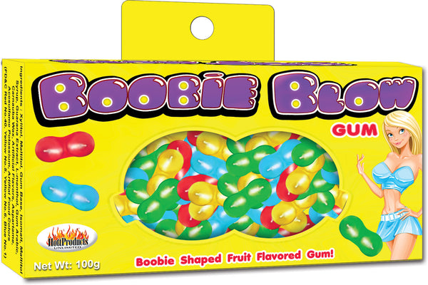 Boobie Blow Gum - realistic enterprises llc