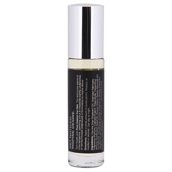 Pure Instinct Pheromone Cologne Oil for Him - Roll on 10.2ml - realistic enterprises llc