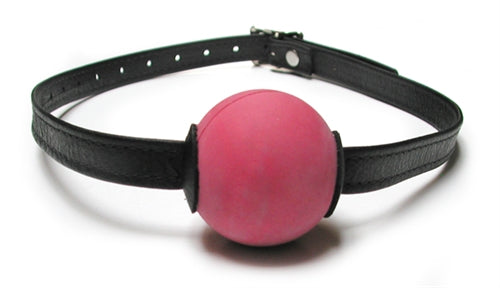 Bondage Basics Ball Gag - Red - realistic enterprises llc