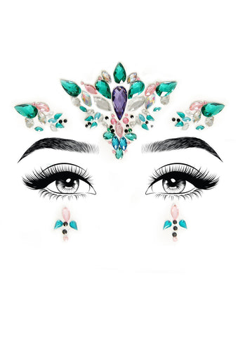 Aria Adhesive Face Jewels - realistic enterprises llc