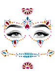 Day of the Dead Adhesive Face Jewels - realistic enterprises llc