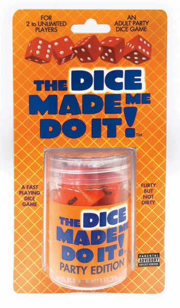 The Dice Made Me Do It - Party Edition - realistic enterprises llc