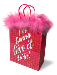 Im Gonna Give It to Ya! Gift Bag - realistic enterprises llc