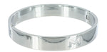 Chrome Slave Collar - Medium- Large - realistic enterprises llc