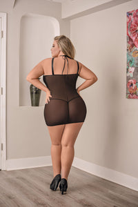 Strappy Chemise and G-String - Queen Size - realistic enterprises llc