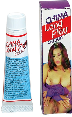 China Long Play Cream - realistic enterprises llc