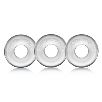 Ringer 3-Pack Do-Nut-1 - Clear