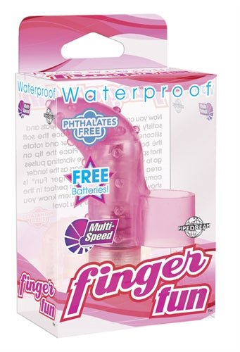 Waterproof Finger Fun - Pink - RealisticDildos.com