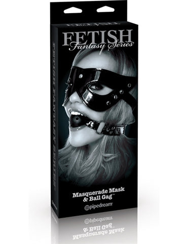Fetish Fantasy Limited Edition Masquerade Mask and Ball Gag - RealisticDildos.com