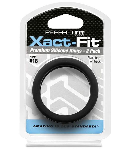 Xact-Fit Ring 2-Pack #18 - RealisticDildos.com