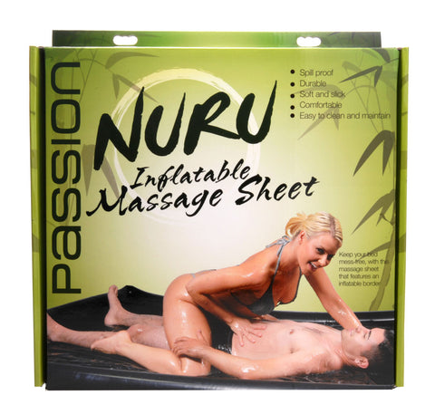 Nuru Inflatable Vinyl Massage Sheet - realistic enterprises llc