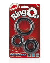 Ringo X3 - 6 Count Box - Black - realistic enterprises llc