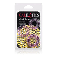 Island Rings - Purple - realistic enterprises llc