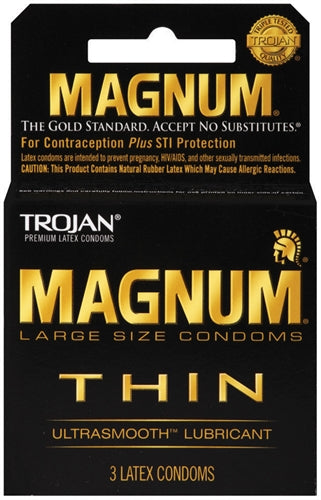 Trojan Magnum Thin - 3 Pack - realistic enterprises llc