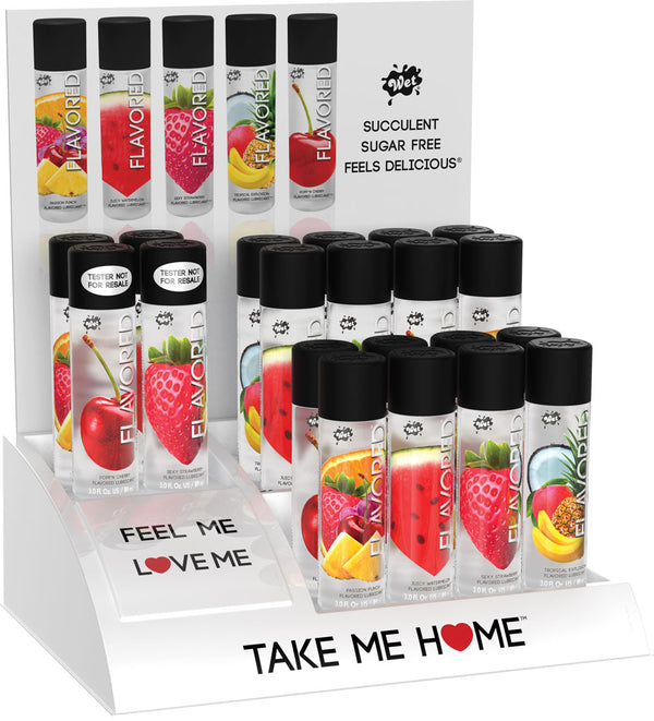 Wet Flavored Countertop Display and Testers - realistic enterprises llc