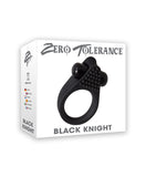 Zero Tolerance Black Knight Cock Ring - RealisticDildos.com