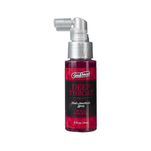 Good Head Throat Spray - Wild Cherry - realistic enterprises llc